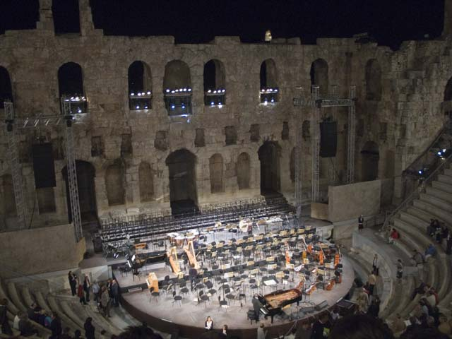 The Herodion Atticus Theater under the Acropolis